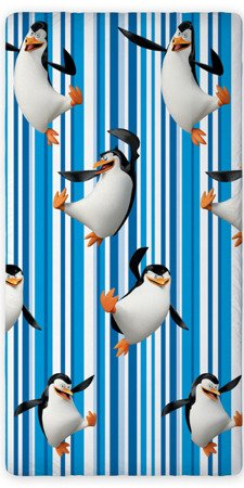 Pamut lepedõ Penguins from Madagascar 01 90x200 cm